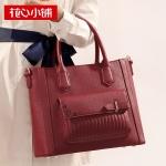 ***พร้อมส่ง - กระเป๋าแฟชั่น Axixi สีไวน์แดง ฉลุดอกไม้ขอบกระเป๋า ทรงสวยตั้งได้ ดีไซน์เก๋ๆ สวยสุดมั่น เหมาะกับสาว ๆ ที่ชอบกระเป๋าคุณภาพ งานเนี้ยบสวยมากค่ะ