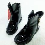 รองเท้าบู๊ทสั้น เท่ห์ๆ สีดำ มีทุกขนาด Size 28-33