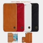 NILLKIN Thin Qin PU Leather Flip Pouch Cover Case For iPhone 7
