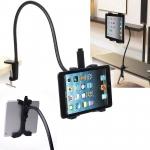 """[มือจับนล่าง] 360º Adjustable Aluminum Desk Gooseneck Mount Holder Stand for 5""""-10"""" Tablet :ipad 2 3 4 Air..."""