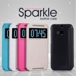 เคส HTC New ONE / M8 Leather Case NILLKIN แท้
