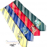 เนคไทโลโก้ (มี 4 สี 4 บ้าน) Harry Potter house tie