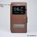 เคส Asus Zenfone 6 รุ่น 2 ช่อง รูดรับสาย