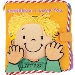 หนังสือผ้า Lamaze Peek-a-boo, I Love You