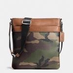 กระเป๋าผู้ชายสะพาย COACH CHARLES CROSSBODY IN PRINTED COATED CANVAS F55070