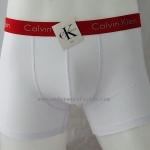 กางเกงในชาย Calvin Klein Boxer Briefs : สีขาว ขอบแดง CK