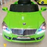 BJ3171G รถแบตเตอรี่เด็กนั่งไฟฟ้า ยี่ห้อ BMW (2มอเตอรฺ์) สีเขียว
