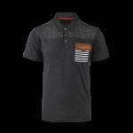 เสื้อโปโลลิเวอร์พูล ของแท้ 100% Liverpool FC Mens Charcoal Main Polo Shirt