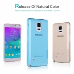 Nillkin Nature Slim Clear TPU Case Cover for Samsung Galaxy Note 4