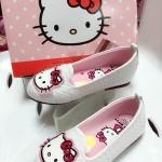 รองเท้าเด็ก คัชชู Hello Kitty *ขาว*