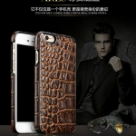 OATSBASF Luxury [Genuine Leather] Crocodile Patterm Case Cover for iPhone 7