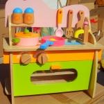 ของเล่นไม้ เสริมพัฒนาการ ชุดเครื่องครัวน้อย