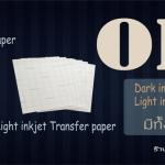 จำหน่าย กระดาษทรานเฟอร์ (transfer) มีทั้งสีเข้ม สีอ่อน ราคาปลีก ราคาส่ง