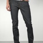 กางเกง Nudie Jeans Thin Finn Organic Dry Ecru Embo