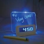 USB Hub นาฬิกา โน๊ตเรืองแสง