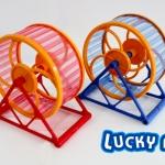 วงล้อหมุนของเล่นหนูแฮมเตอร์ Play Wheel(พิเศษ!!สั่งซื้อ12ชิ้นในราคา440บาท)
