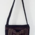 กระเป๋าถักเชือกร่ม สะพายข้่าง