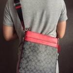 กระเป๋าผู้ชายสะพาย COACH BOWERY CROSSBODY IN SIGNATURE F71877