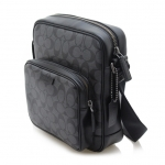 กระเป๋าผู้ชายสะพาย COACH BLEECKER FLIGHT BAG BLACK F70864