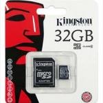 KINGSTON MICRO SD 32GB CLASS 10