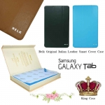 Belk Original Italian Leather Smart Cover Case For Samsung Galaxy Tab 3 8 นิ้ว