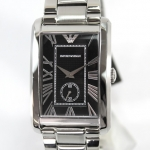 (REFURBISHED) Emporio Armani Classic Watch นาฬิกาข้อมือชาย สายสแตนเลส รุ่น AR1608