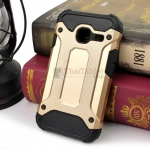 Rugged Hybrid Dual Layer Armor Case Cover For Samsung Galaxy J1 Mini