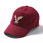 หมวกแฟชั่น American Eagle Signature Fitted Baseball Cap - Wineberry