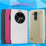 เคสมือถือ LG G4 Stylus รุ่น Sparkle Leather case Nillkin แท้ !!!