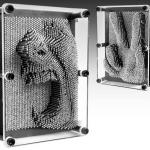 3D Pin Art กรอบรูปตะปูสามมิติ (ขนาดจัมโบ้)