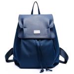 [ พร้อมส่ง ] - กระเป๋าเป้แฟชั่น สไตล์เกาหลี สีน้ำเงินสุดชิค ใบใหญ่แต่น้ำหนักเบา พกพาง่าย ดีไซน์สวยเก๋ไม่ซ้ำใคร เหมาะกับสาว ๆ