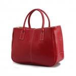 [ Pre-Order ] - กระเป๋าแฟชั่น นำเข้าสไตล์เกาหลี สีแดง ดีไซน์เรียบหรู น้ำหนักเบา ช่องใส่ของเยอะ เหมาะกับทุกโอกาส