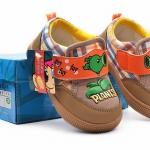 รองเท้าหุ้มส้นเด็กเล็ก Plants Vs Zombies Size 18 - 23