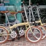 จักรยานพับได้ เฟรมเหล็ก ล้อ 20 นิ้ว 6 สปีด
