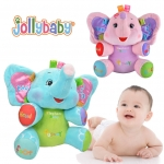 ตุ๊กตาช้าง เสริมพัฒนาการ Jolly Baby เพลงเยอะ ฟังค์ชั่นเยอะ 2 ภาษา สำเนา