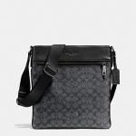 กระเป๋าผู้ชายสะพาย COACH BOWERY CROSSBODY IN SIGNATURE F72103 : BLACK