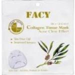 Facy Acne Free Collagen Tissue Mask - เฟซี่ มาส์กสูตรลดปัญหาเรื่องสิว# 12 แผ่น