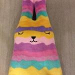 ตุ๊กตาCraftholic กระต่ายสีม่วง/เหลือง (size L 100 ซม.)