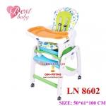 เก้าอี้ทานข้าว (ส้ม/เขียว)