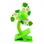 พัดลมโฟม ติดรถเข็นเด็ก Clip-on Mini Fan by DEBOO
