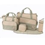 กระเป๋าเด็กอ่อน ใส่สัมภาระลูก Set 5 ชิ้น สีเขียว