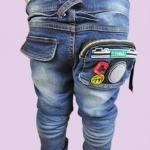 กางเกงยีนส์เด็กชายสไตล์เกาหลี