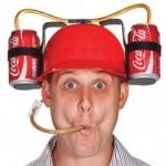 หมวก ดูดดื่ม..น้ำ