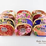 ของที่ระลึกราคาถูก กระเป๋าใส่สิ่งของจิปาถะ (1แพ็ค 12 ชิ้นคละสี) ลายดอกไม้คละลาย เบอร์ 4