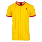 เสื้อลิเวอร์พูลย้อนยุคของแท้ เสื้อฟุตบอลเรทโทรลิเวอร์พูล สีเหลือง เบอร์9