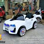 รถ BMW 2มอเตอร์สีขาว