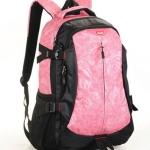 [ พร้อมส่ง ] - กระเป๋าเป้ แฟชั่นนำเข้า สีชมพูโดดเด่น ใบใหญ่จุของได้เยอะ ดีไซน์สวยเท่ๆ ใช้ได้ทั้งสาวๆ หนุ่มๆห้ามพลาดค่ะ