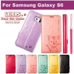 เคส Samsung Galaxy S6 รุ่น Domi Cat