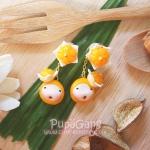 Pupa gang Thai dessert : Jamongkut (จ่ามงกุฏ)