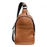 กระเป๋าผู้ชาย COACH CAMPUS PACK IN SMOOTH LEATHER F71751 : SADDLE